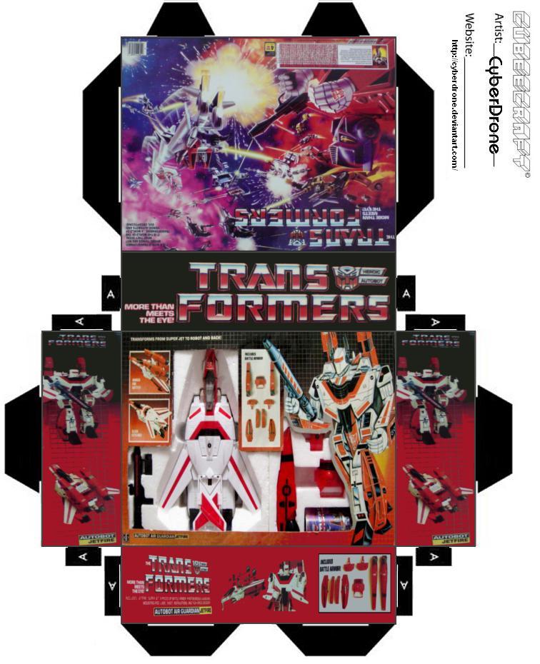 Mini TF Jefire Toy Box by CyberDrone