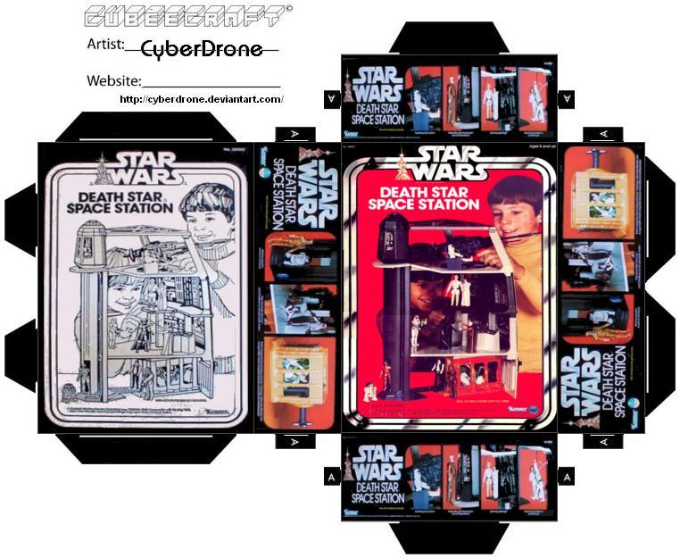 Mini Death Star Toy Box by CyberDrone