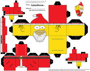 Cubee - Santa Homer