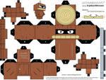 Cubee - Bender 'Wooden Ver'