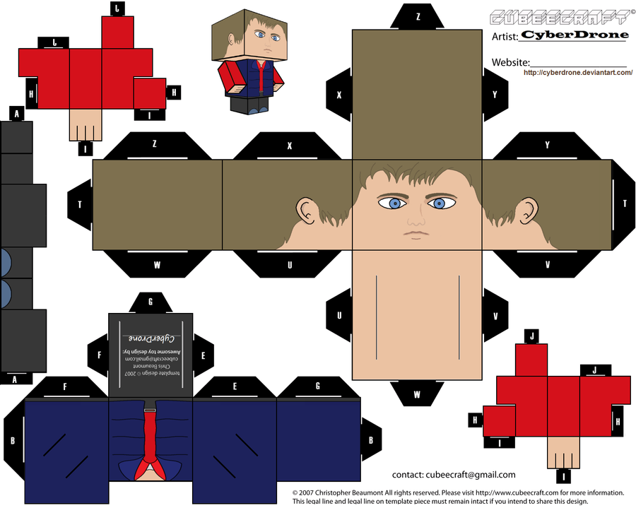 cubee rory williams by cyberdrone on deviantart