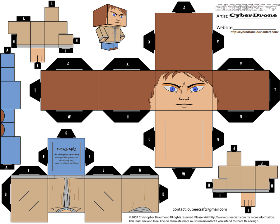 Cubee - Sam Winchester by CyberDrone
