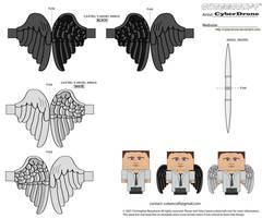 Cubee - Castiel 'Wings'