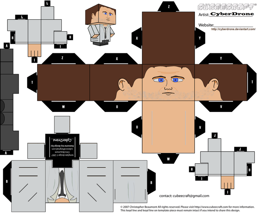Cubee - Castiel by CyberDrone