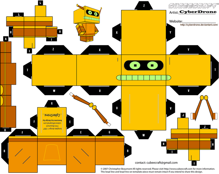 Cubee - Calculon by CyberDrone