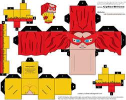 Cubee - Firestar by CyberDrone