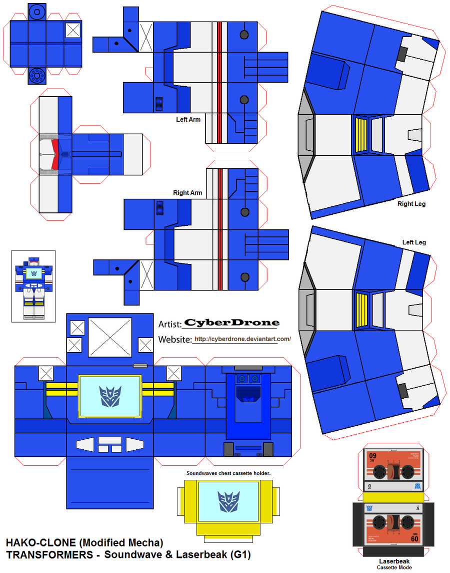 Transformers Papercraft favourites by Leathurkatt-TFTiggy on ...