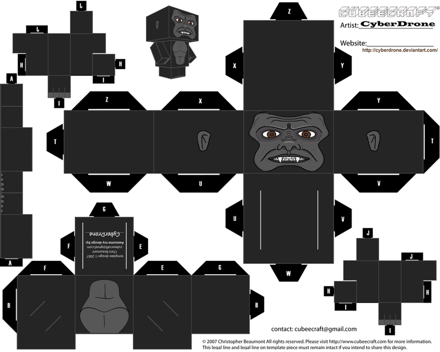 Cubee - King Kong by CyberDrone