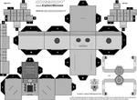 Cubee - Cyberman 'MKI' BW
