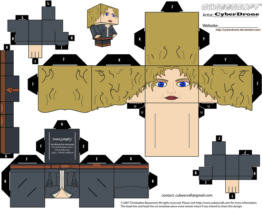 Cubee - River Song 'Ver2' by CyberDrone