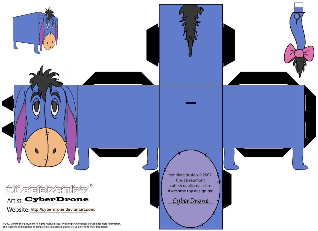 Pooh Gift Boxes Crafts Eeyore Printables Boxes Disney