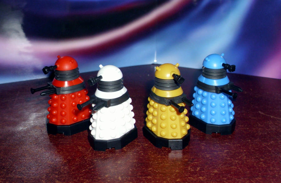 Mirco Dalek Figures by CyberDrone