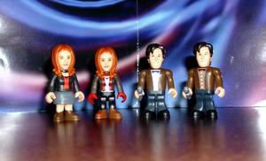 Doctors and Ponds Micro Figs by CyberDrone