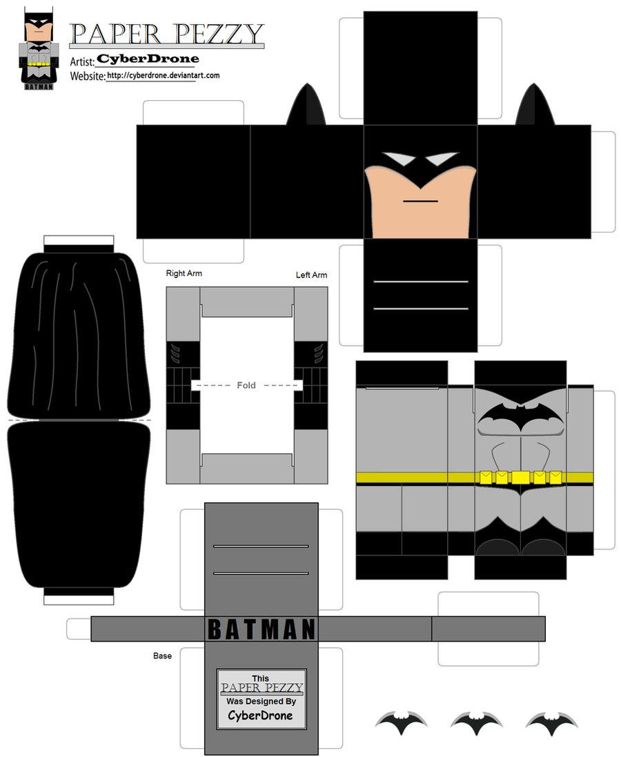 Paper Pezzy- Batman
