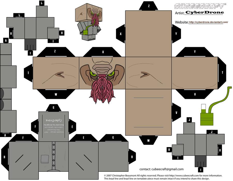 Cubee - Ood 'Nephew' by CyberDrone