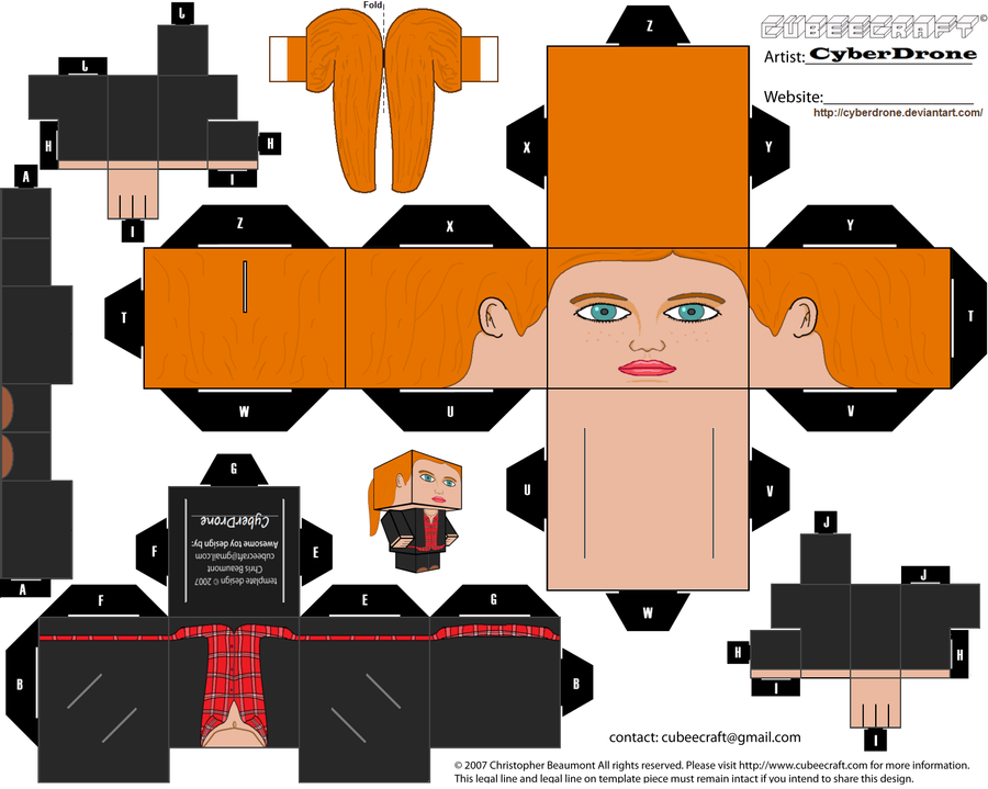 Cubee - Amy Pond 'Ver4' by CyberDrone