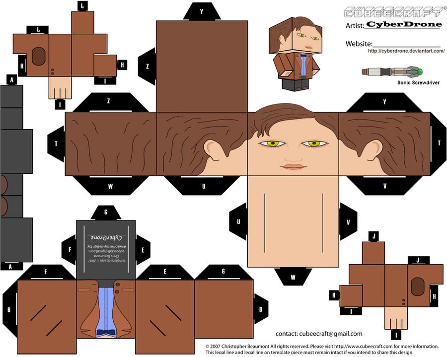 Cubee - 'Ganger' Doctor by CyberDrone
