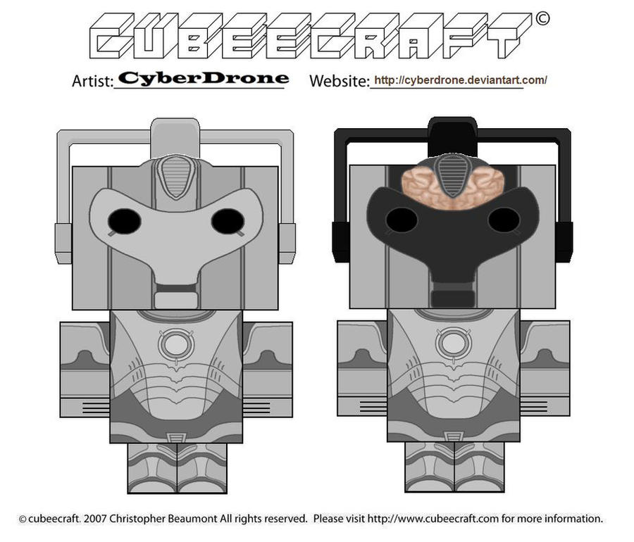 Cubeecraft - Cybermen by CyberDrone