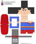 Paper Pezzy- Superman