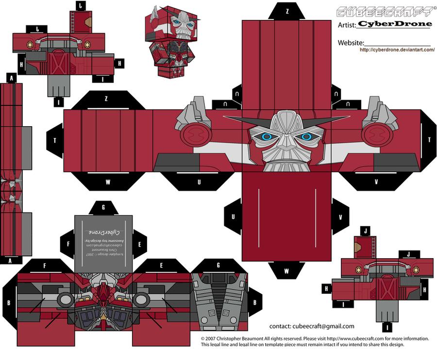 Transformers Cubeecraft Taringa