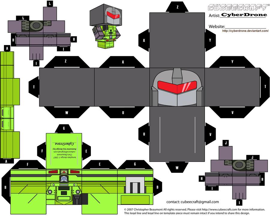 Cubee - Long Haul by CyberDrone
