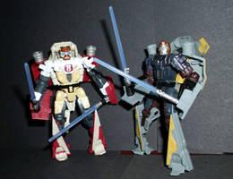 Mini-Star Wars Transformers by CyberDrone
