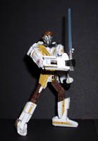 Mini-Star Wars Transformers - Y-Wing by CyberDrone