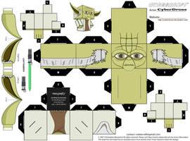 Cubee - Yoda 'Clone Wars Version' by CyberDrone