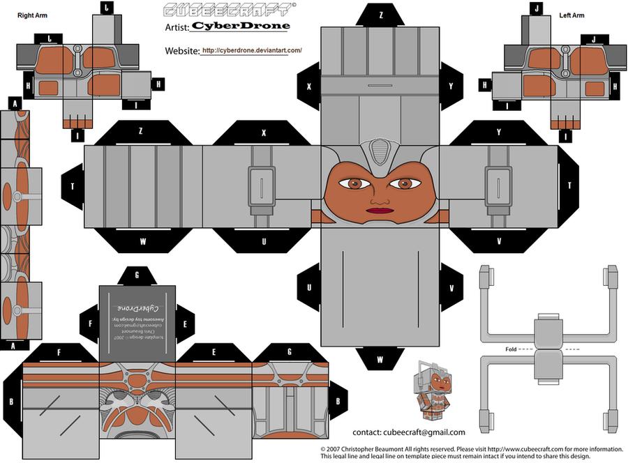 Cubee - Cyberwoman by CyberDrone