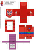 Paper Pezzy- Beast Man 'Classic' by CyberDrone