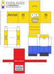 Paper Pezzy- Homer Simpson