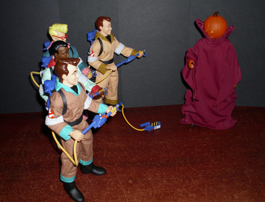 The Real Ghostbusters vs. & The Real Ghostbusters vs. SamHain by CyberDrone on DeviantArt