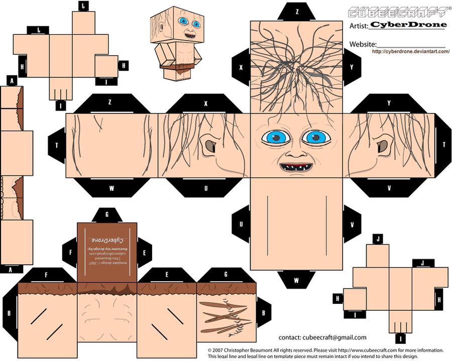 Cubee - Gollum by CyberDrone