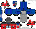 Cubee - Optimus Prime 'TF- Prime' v1