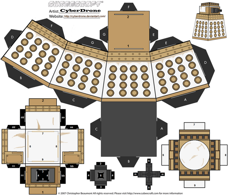 Cubee special weapons dalek by cyberdrone on deviantart cubee special weapons dalek by cyberdrone pronofoot35fo Gallery
