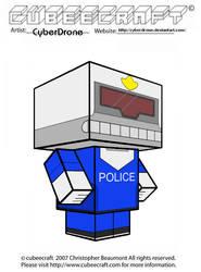Cubeecraft - URL Police Officer