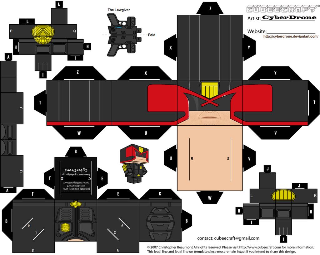 Cubee - Judge Dredd '2012 Movie' by CyberDrone on DeviantArt - photo#31