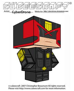 Cubeecraft - Judge Dredd '2012 Movie'