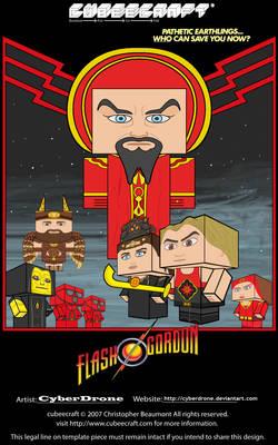 Cubeecraft - Flash Gordon Mini Movie Poster