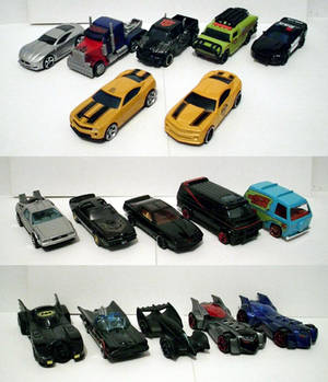 Die-Cast Movie and TV Cars