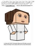 Cubeecraft - Princess Leia