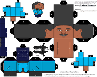 Cubee - Lando Calrissian by CyberDrone