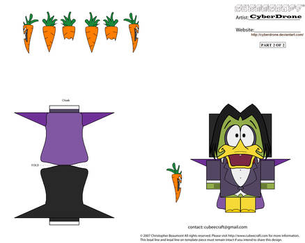 Cubee - Count Duckula '2of2' by CyberDrone