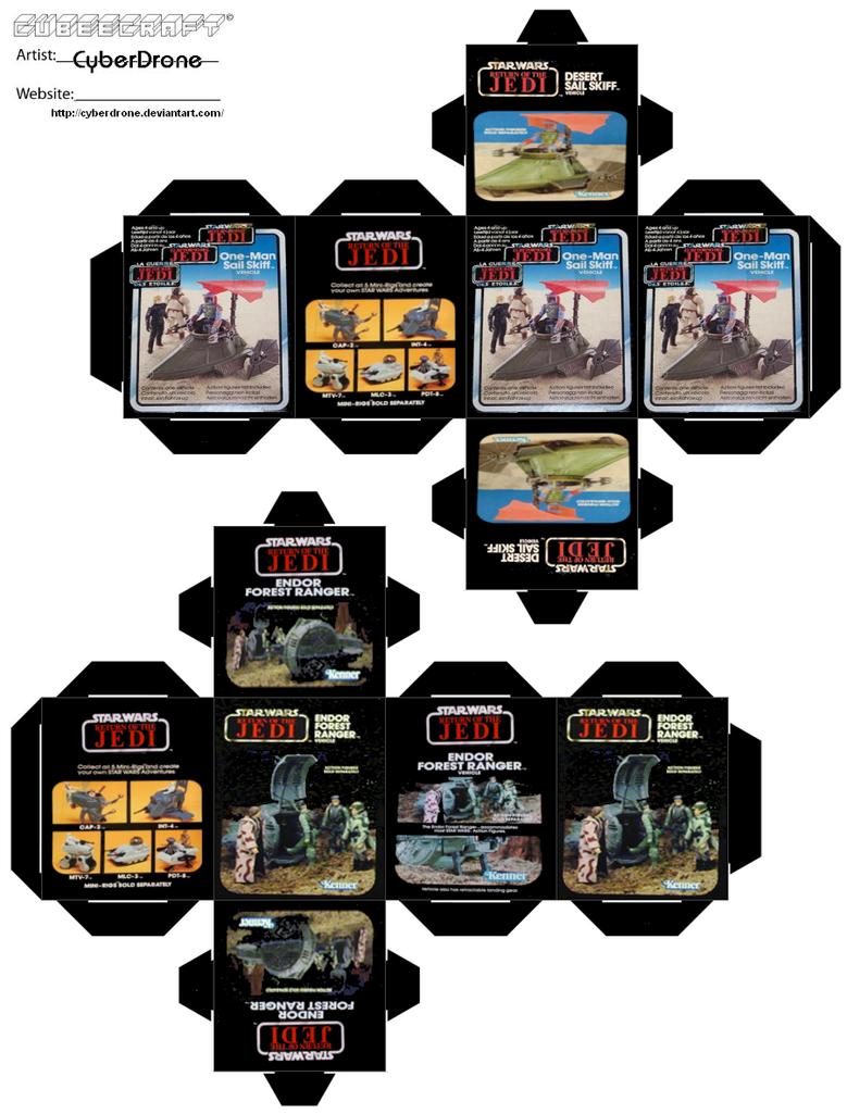 Cubee Star Wars Mini Rigs 2 By Cyberdrone On Deviantart