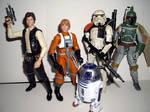 Star Wars 6 Inch Black Series by CyberDrone