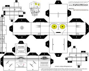 Cubee - K-3PO by CyberDrone