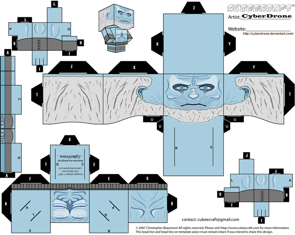Cubee - White Walker by CyberDrone