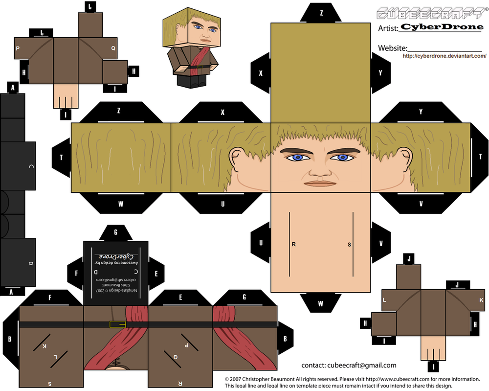 Cubee - Joffrey Baratheon by CyberDrone