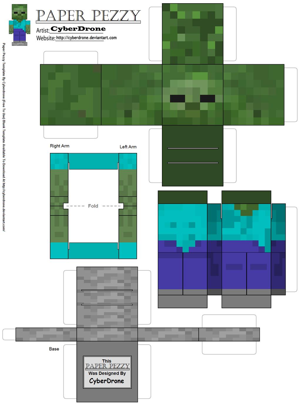 Поделки для minecraft
