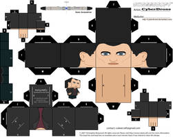 Cubee - The 9th Doctor by CyberDrone